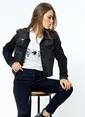 Vero Moda Jean Ceket Siyah